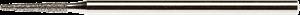 Фиссурная фреза макс. 100 000 об/мин - фото 4698